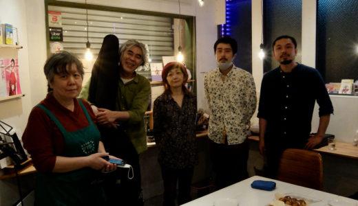 2021.5.22 sat. 河崎純さんとトーク&ライブ @ 蕨・Antenna Books & Cafe ココシバ 終了しました